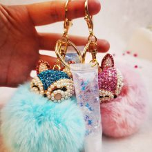 Fashion Plush Keychain Lipgloss Sets Matte and Shiny Private Label Lipgloss Lip Glaze Vendor Lip Gloss Set