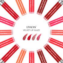 2021 velvet matte air lip glaze lip gloss not easy to fade, multi-color optional OEM / LOGO