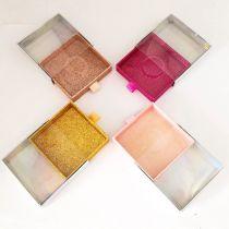 1pcs wholesale marble lash box pink packaging box fake 3d mink lashes boxes faux cils strip diamond magnetic case empty