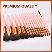 Customized Label New Fashion Premium Foundation Loose Powder Concealers Eye Shadows Makeup Brush Sets Cosmetic Tool Wholesale
