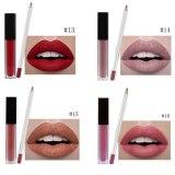 50pcs 2in1 Matte Lipstick Private Label Wholesale Liquid Lipstick And Lip liner Pencil Cosmetic Set Custom Logo Makeup Vendors