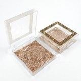 1PC Square Acrylic Diamond False Eyelash Packaging Box Fake 10mm-25mm 3d Mink Eyelashes Boxes Case Lashes Empty Bulk Box trays