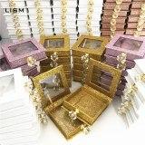 Mangodot 1pcs Mink False Eyelashes Book Custom Packing Magnetic Gift boxes Diamond Lashes Cases Package Makeup Cosmetic Case