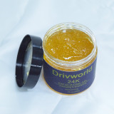 Drivworld Hot 2021 new style 24K keratin cleansing gel reduces dead skin clears blackheads and pores  cleansing gel facial scrub