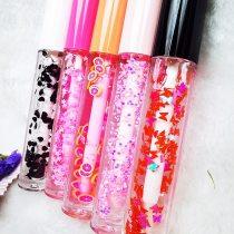 Fruity Lipgloss Lip Customized Vitamin E Oil Scented Lip Plumping Lip gloss Scented Lip Gloss Moisturizer Shiny Mineral Oil