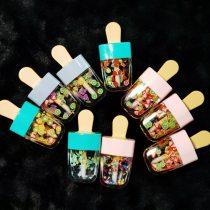 Moisturizing Fruit Lip Gloss Lipgloss Mini Ice Cream Tube Lip glaze Vendor Base Clear Hot Seller Customize Lipgloss Cosmetic
