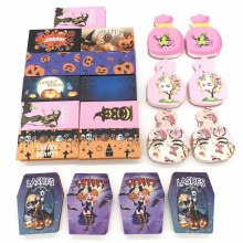 Halloween  Lash Box False 25mm Lashes Packaging Cases Wholesale Bulk Halloween Theme Empty Container Eyelashes Packaging box