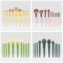 Top Quality Luxury Makeup Brush Set Foundation Powder Blush Eyeshadow Concealer Lip Soft Cosmetics Kit  Custom Private label