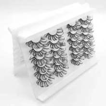 Drivworld 2021 24pair bulk wholesale eyelash custom box and logo 3D eyelash vendor customized boxes 25mm mink eyelashes