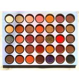 5 Piece 35 Colors Natural Eyeshadow Palette Private Label  High Pigment Eye Shadow Palette Custom Logo Wholesale