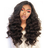 Natural Loose Wave U Part Brazilian 100% Human Hair Wigs For Black Women Wholesale Raw Indian Virgin Blend Wig Hair Extensions