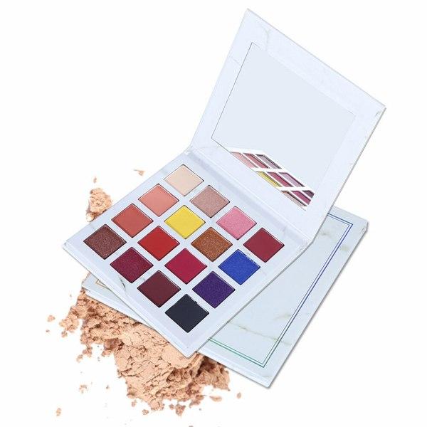 5 Pieces OEM  Korean Purple Blue Pressed Eyeshadow Palette Private Label Cruelty Free Eye Makeup Custom Eye Shadow No Logo