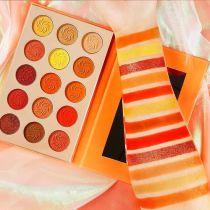 High Pigment Nude 4 Seasons Color Eyeshadow Palette Matte Shimmer Glitter Long Smooth Waterproof Makeup Set  Eyeshadow