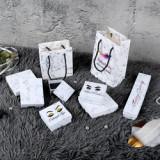 Logo printing empty eyelash package box marble magnetic lashes case custom logo eyelash bags