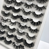 Private Lablel Wholesale Mink lashes 18mm 25mm artificial eyelashes  Vendor With Custom Packaging Your Own Logo lashes box
