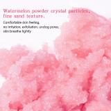 2021 Popular 100% Pure Natural Body Polish Exfoliante Corporal Gommage Corps Watermelon Body Scrub