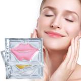LIYALAN Private Label Pink White Gold Lip Sleeping Mask Gold collagen crystal Lips Mask