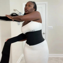 Snatch Me Up Bandage Wrap Waist Trainer Shaperwear Belt Women Slimming Tummy Belt Corset Top Stretch Bands Cincher Body Shaper