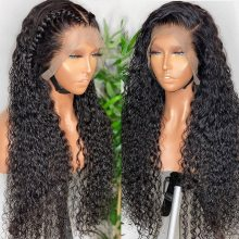 13x4 Curly Human Hair Wigs Deep Wave Frontal Wig Brazilian Hair Curly Lace Front Wigs For Women Human Hair Pre Plucked Hairline