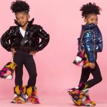 NS033 Factory wholesale new arrivals winter fashion boys kids jackets 2021 fall girls jackets