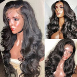 13x6 HD Lace Frontal Wig Body Wave Lace Front Human Hair Wigs 5x5 HD Lace Closure Wigs Preplucked Hairline Wig For Women 30 inch