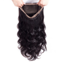body wave Human Hair 360 Lace Frontal Closure lace frontal