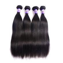 真人头发发帘 8A Brazilian virgin Straight human hair bundles