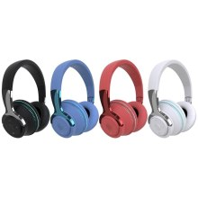 RGB Colorful Gaming Headset Headphone Premium Omnidirectional Microphone Foldable Earmuffs Active Noise Oct6 21 Dropship