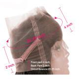 9A Brazilian Human Hair Loose Wave 360 Lace Frontal Closure