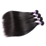 50g/PCS Peruvian Human Hair Straight 巴西真发发帘 直发发帘