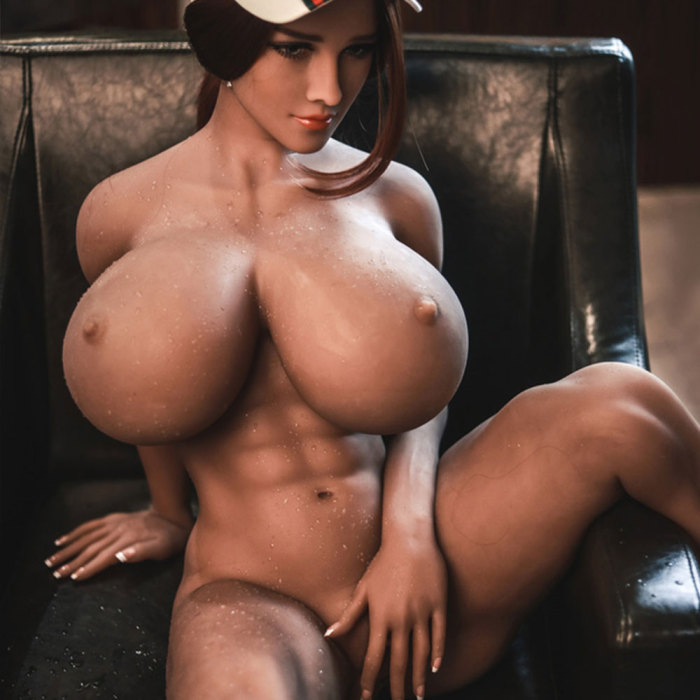 150cm Muscular Sex Doll Fitness Sport Love Doll - Leona