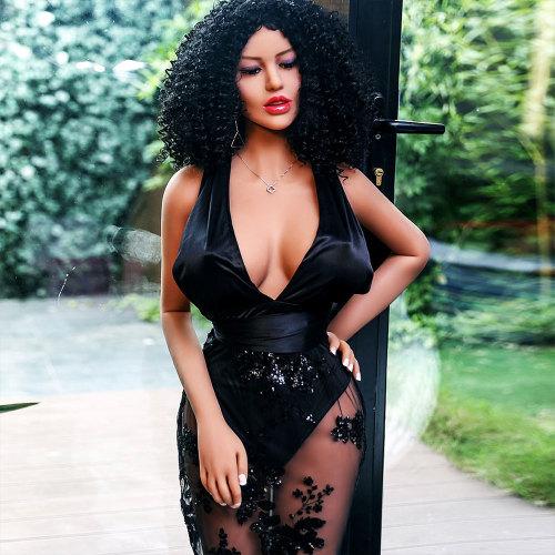 158cm Ebony Yara Love Doll African-American Sex Doll - Hannah
