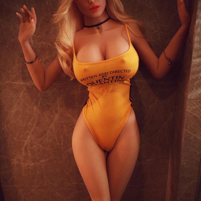 165cm Blonde Real Life Sex Doll - Doris