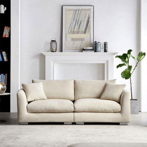 3~6 Seats Feathers Sofa