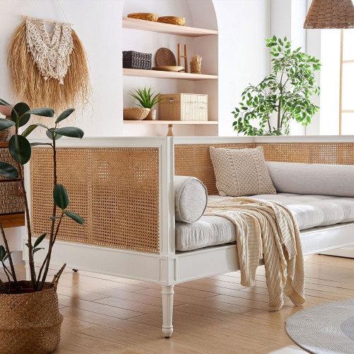 Harbor Cane Sofa