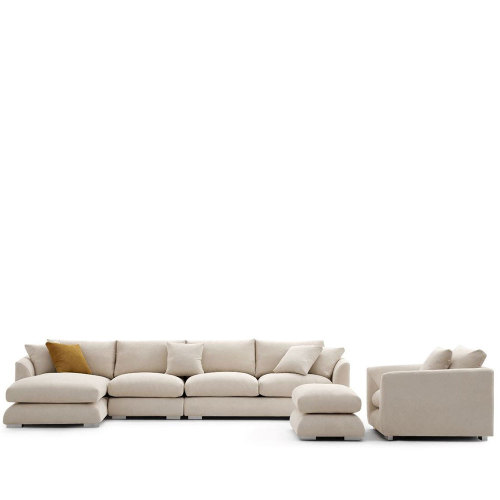 142 Inch Feathers Room Set