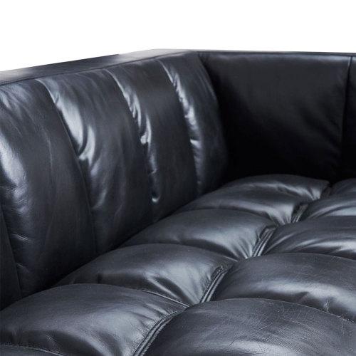 Zonyns Vintage Top full Genuine Leather Sofa