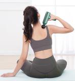 Mini Muscle Massage Gun LCD Screen Touch Deep Tissue Percussion Massager