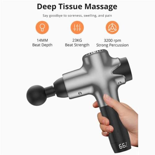 High Frequency Handheld Massage Gun Deep Tissue Percussion Muscle Stimulator