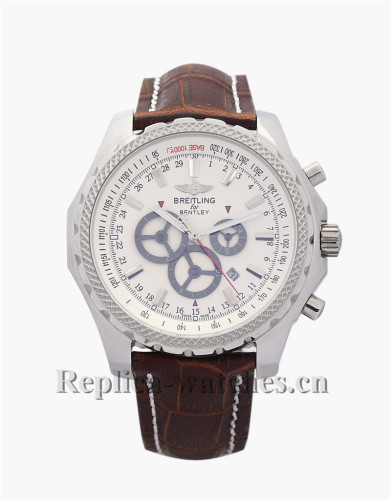 Breitling Bentley GT White Dial 45MM A13362