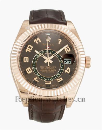Rolex Sky-Dweller Black Dial 42MM 326135