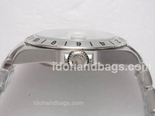 Rolex Explorer II Swiss ETA 2836 Movement with Black Dial Vintage Edition 10617