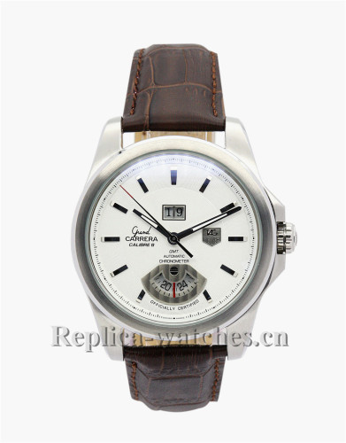Tag Heuer Grand Carrera White Dial 42MM WAV5112.FC6231