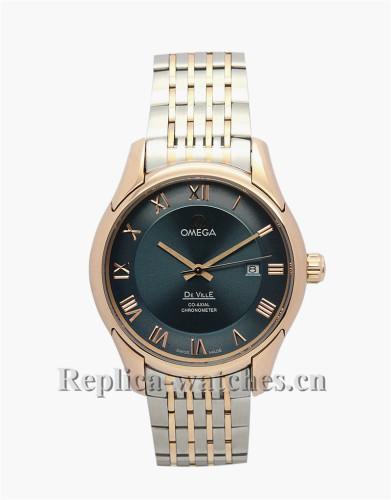 Omega De Ville Hour Vision Automatic Gold Bezel 41 MM