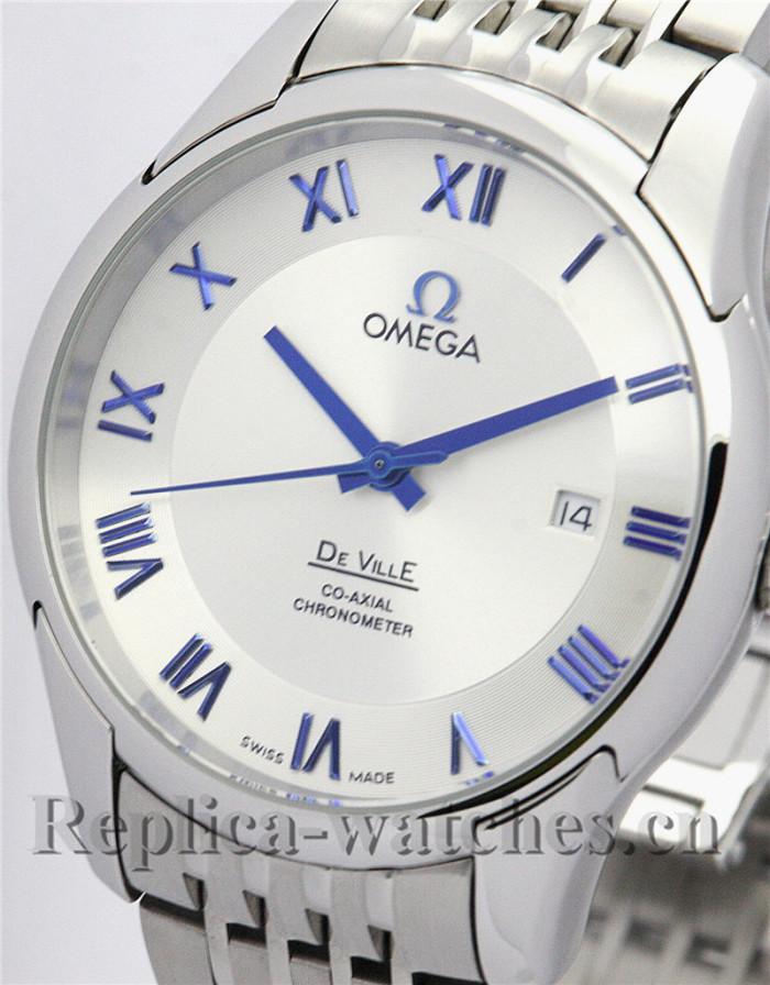 Omega De Ville Hour Vision Automatic White Dial 41MM