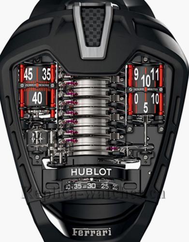 Hublot MasterPiece MP-05 Laferrari Aperta 905 Black Case Replica Watch