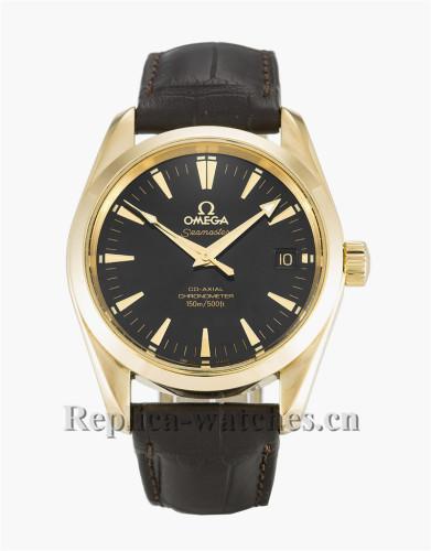 Omega Aqua Terra 150m Mid-Size Black Dial 35MM 2604.50.37