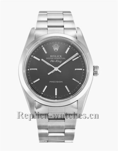 Rolex Air King Black Dial 14000