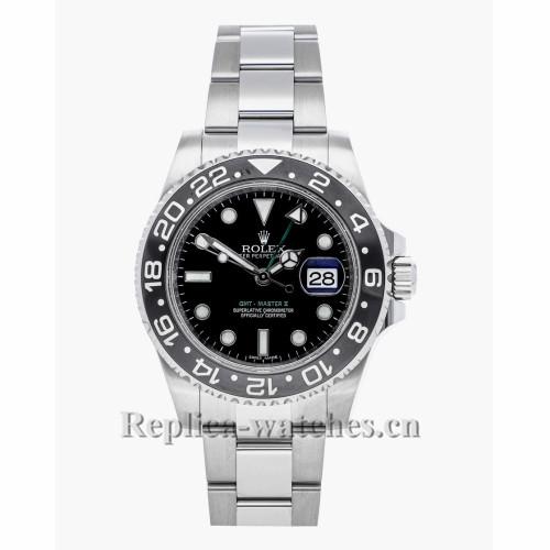 Rolex Replica GMT Master Black Dial 16722