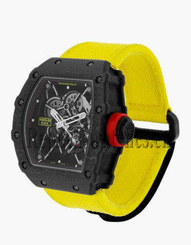 Replica Richard Mille Rafael Nadal Black NTPT Carbon Watch